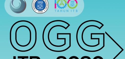 Coming Soon Pre Event Ogg Itb 2020 Olimpiade Geografi Dan Geosains Itb 2021