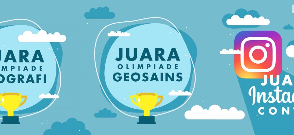 Pengumuman Juara Ogg Itb 2020 Olimpiade Geografi Dan Geosains Itb 2021